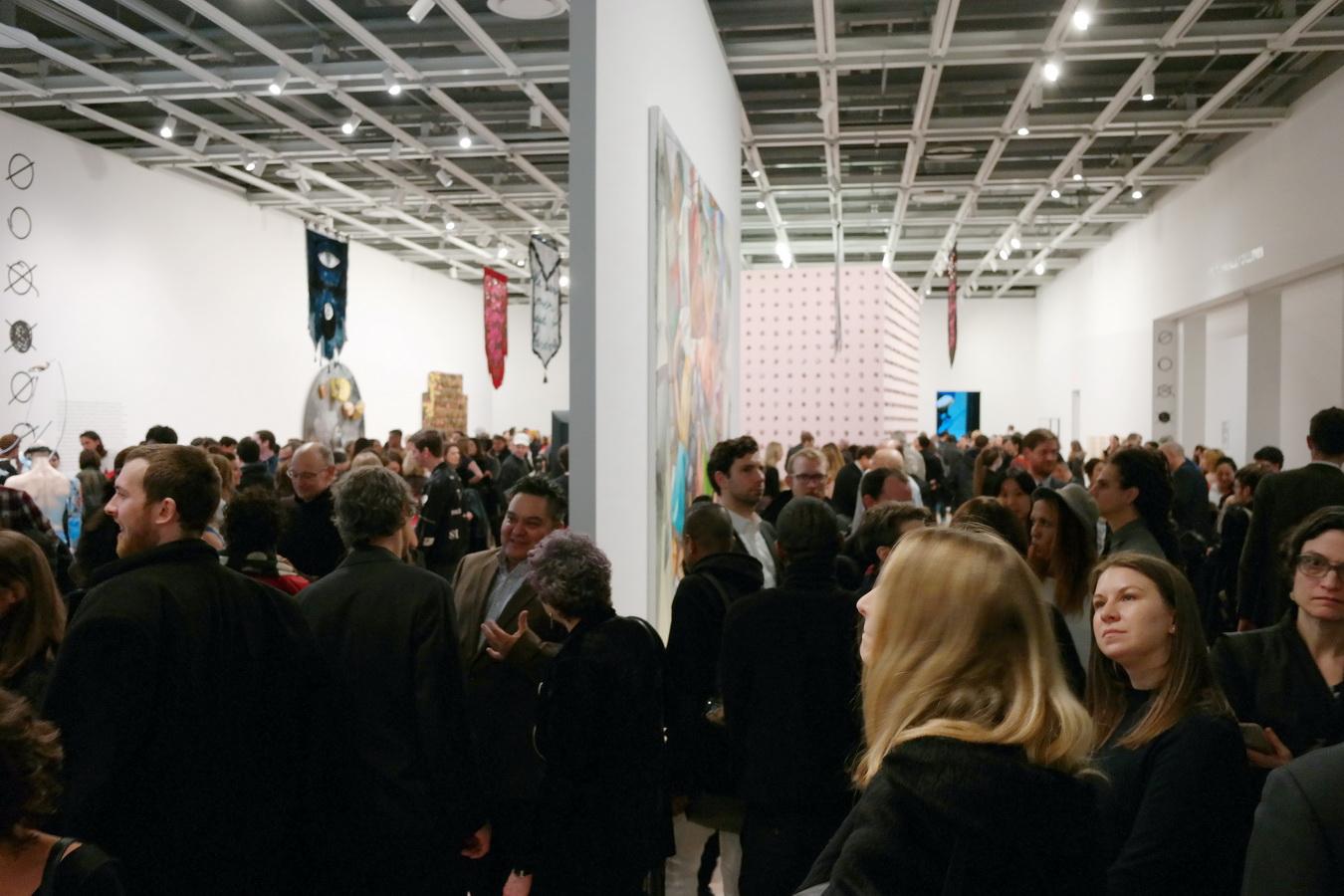 Whitney Biennial 2017 opening